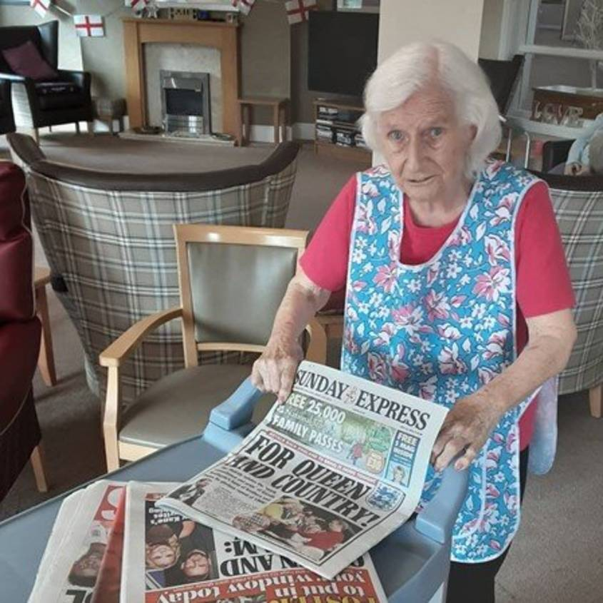 Kingfisher Court welcomes new resident Kate