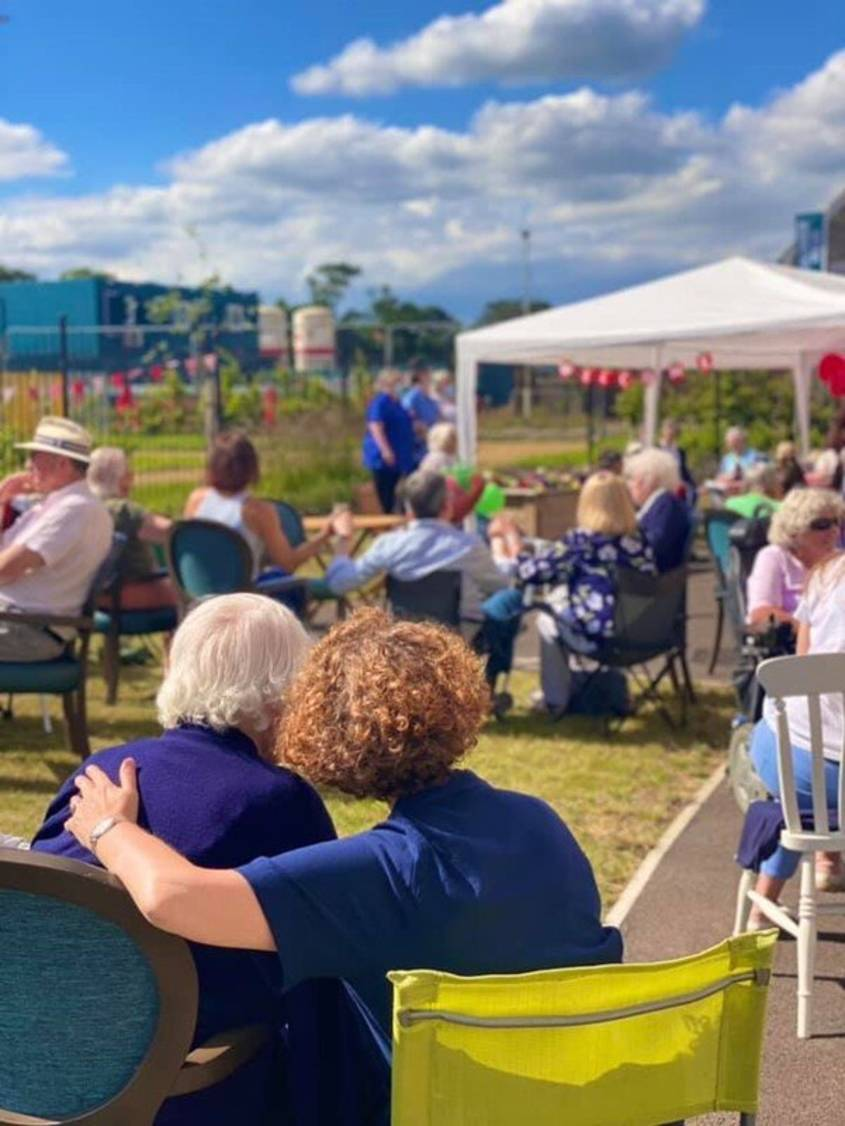 Families reunited at Marham House Strawberry Fair June 2021