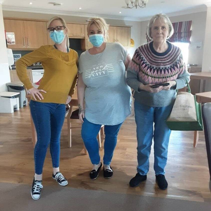 Random Acts of kindness at Kingfisher Court