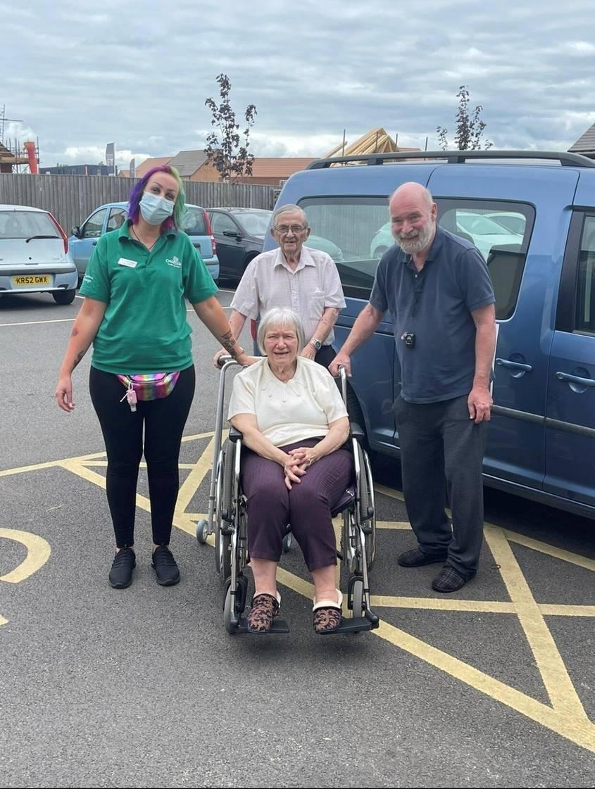 Timken Grange Residents Road Trip